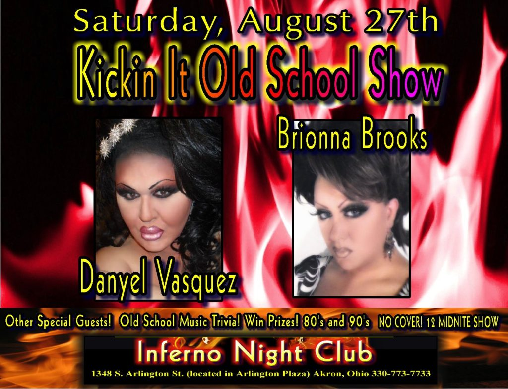 Ad | Inferno Nightclub & Bar (Akron, Ohio) | 8/27/2011
