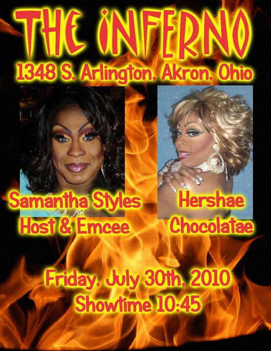 Ad | Inferno Nightclub & Bar (Akron, Ohio) | 7/30/2010