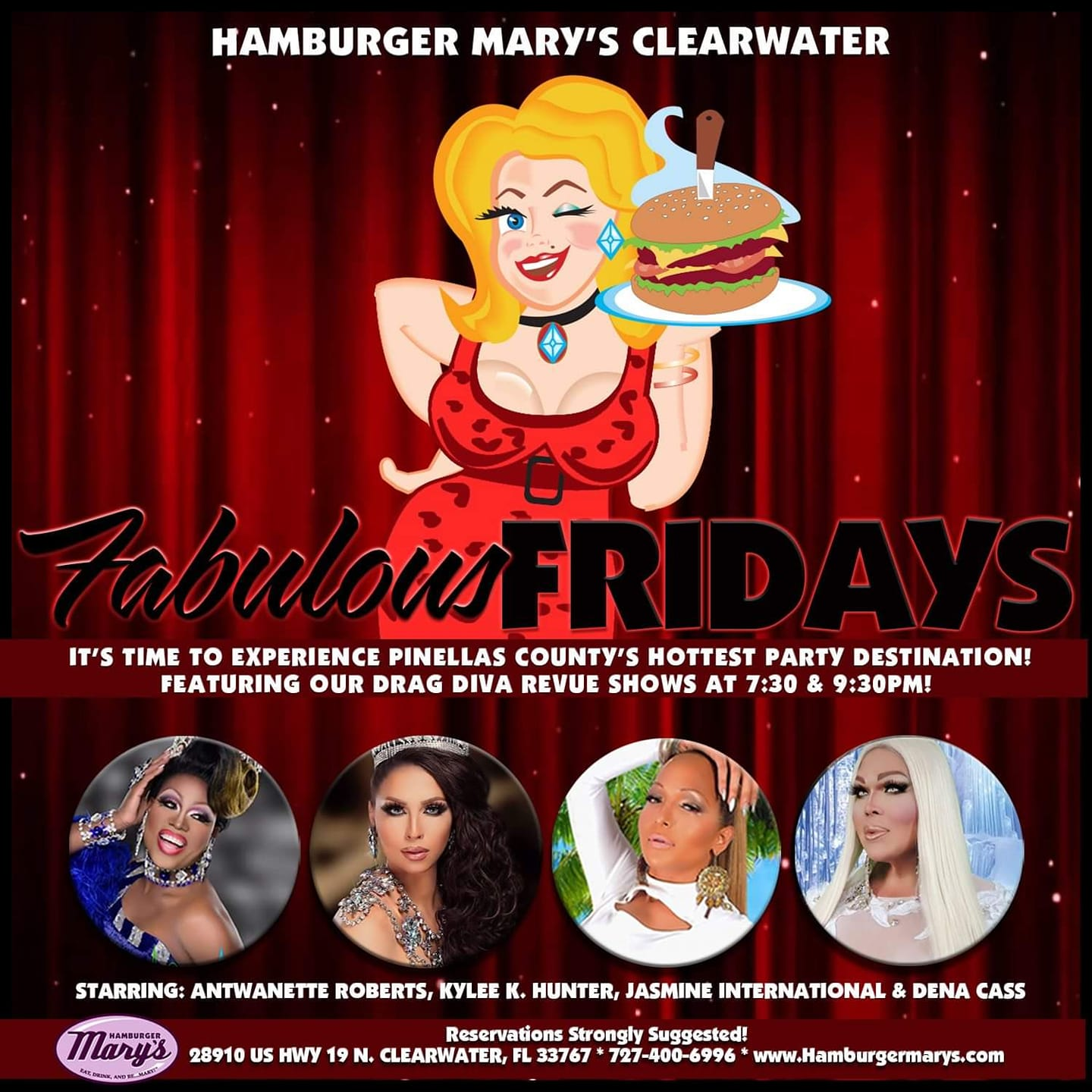 Ad | Hamburger Mary's (Clearwater, FLorida) | 6/14/2019