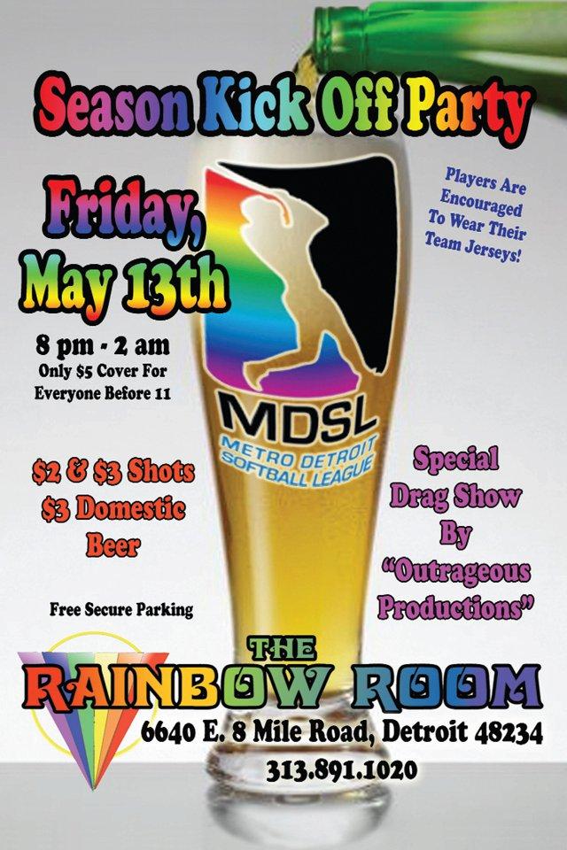 Ad   The Rainbow Room (Detroit, Michigan)   5/13/2011