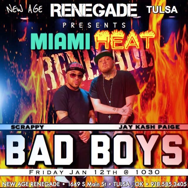 Ad | New Age Renegade (Tulsa, Oklahoma) | 1/12/2018