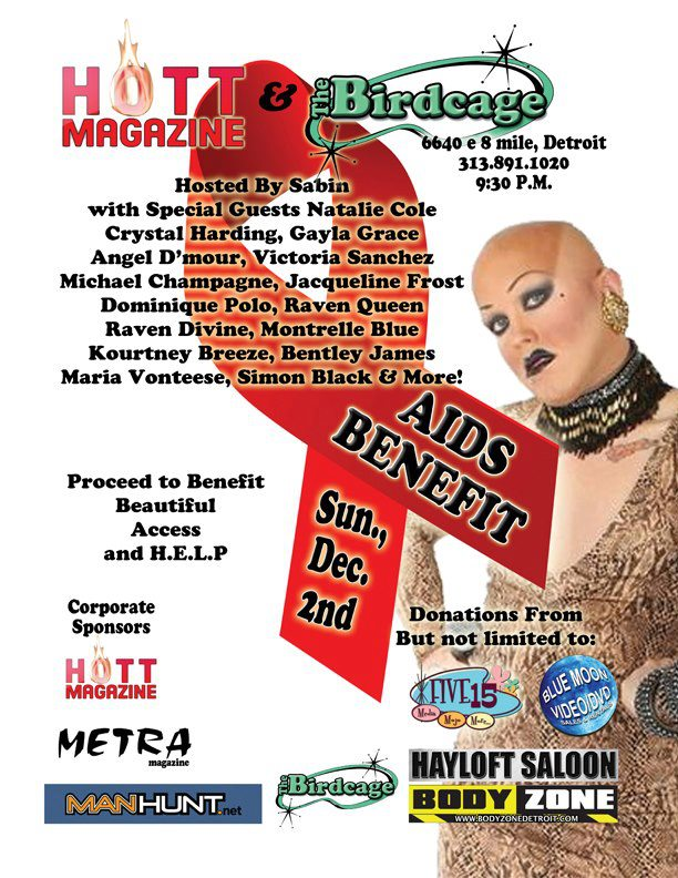 Ad | The Birdcage (Detroit, Michigan) | 12/2/2012