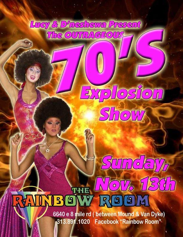 Ad | The Rainbow Room (Detroit, Michigan) | 11/13/2011