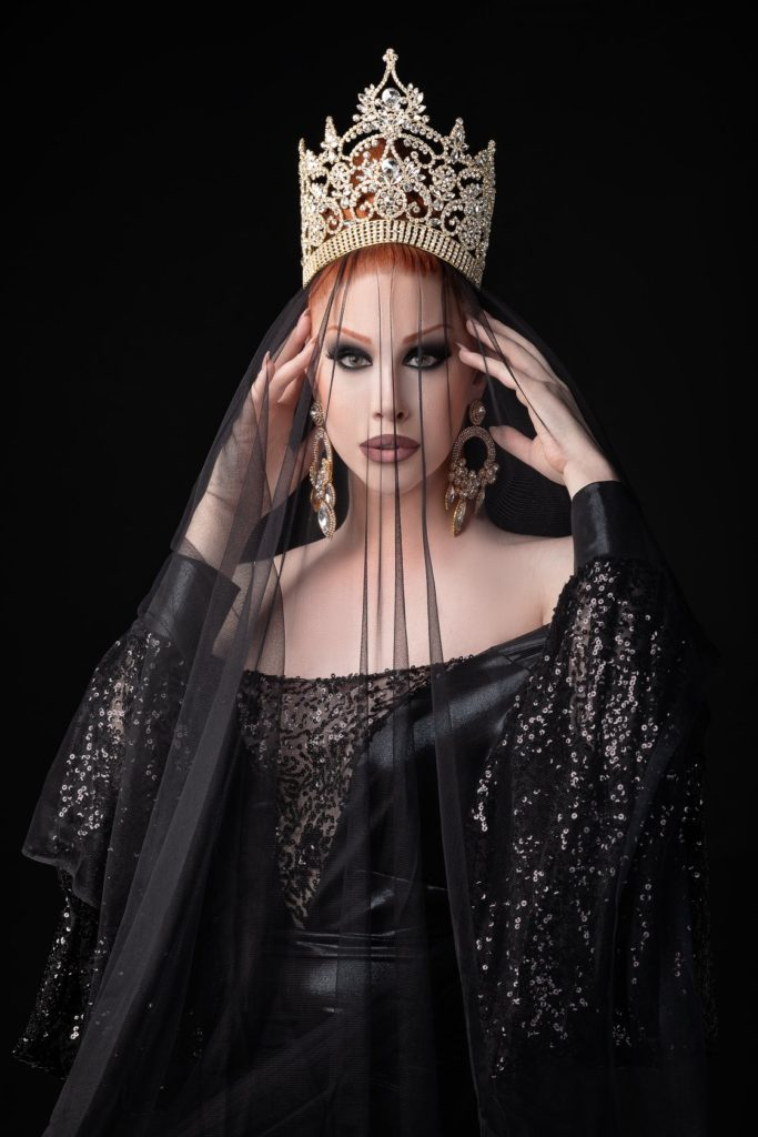 Melony VonKruz - Photo by The Drag Photographer and Reggie Hobbs