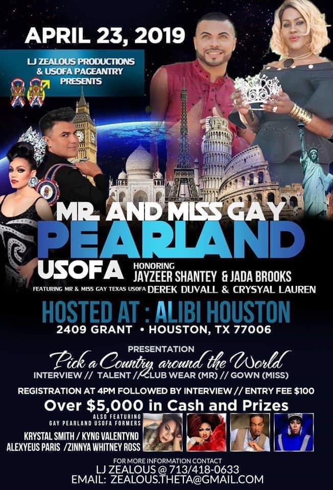 Ad | Pearland USofA | Alibi (Houston, Texas) | 4/23/2019