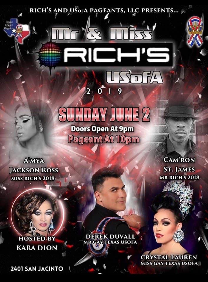 Ad | Rich's USofA | Rich's (Houston, Texas) | 6/2/2019