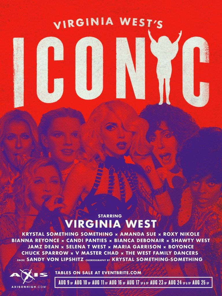 Ad | Virginia West's Iconic | Axis Night Club | 9/6/2019