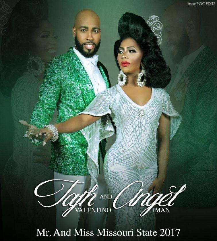 Tajh Valentino and Angel Iman - Photo by Tone Roc Edits