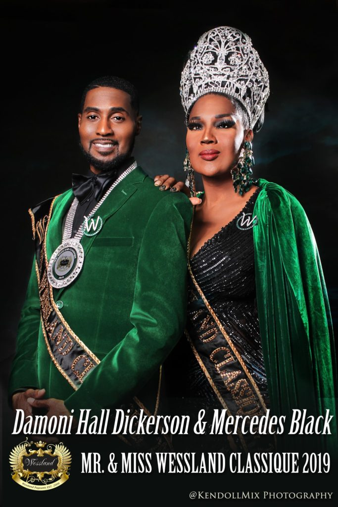 Damoni Hall Dickerson and Mercedes Black - Photo by Kendoll Mix Photography