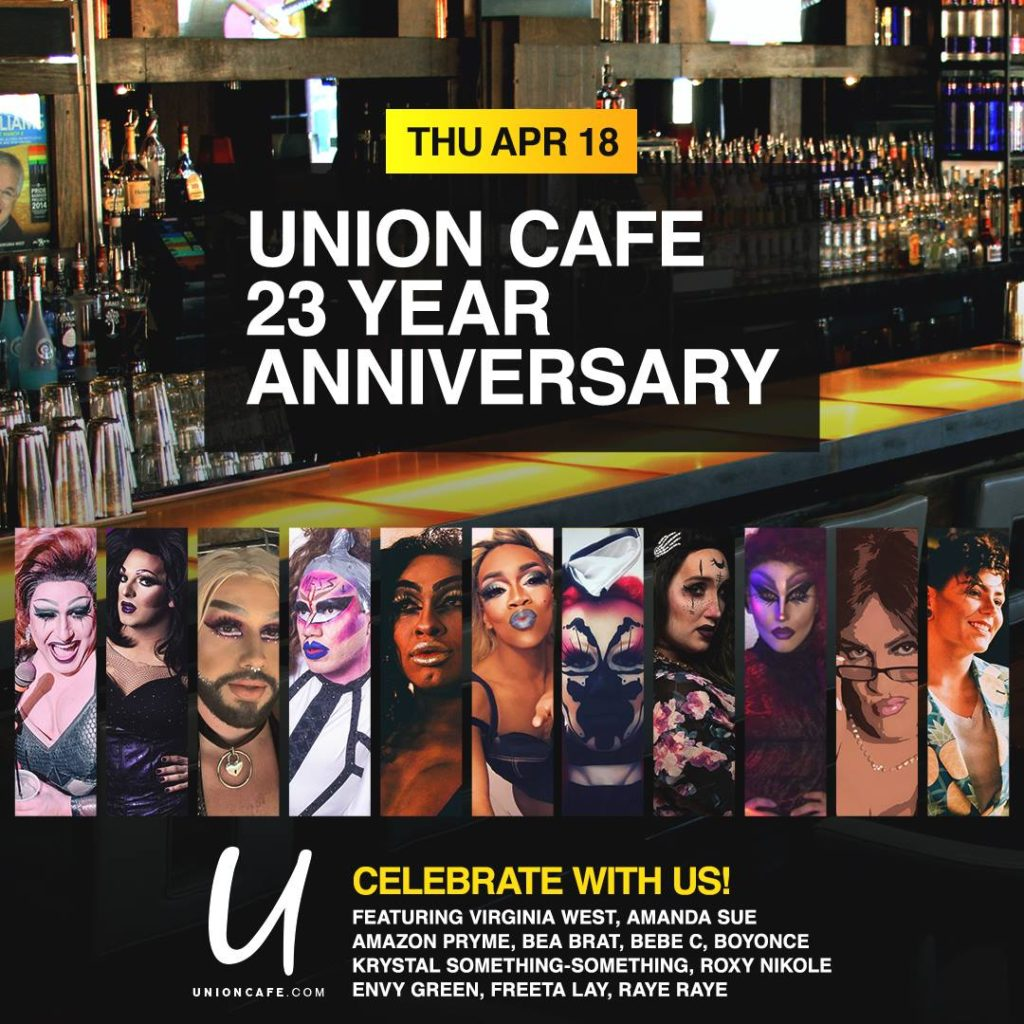 Ad | Union Cafe (Columbus, Ohio) | 4/18/2019
