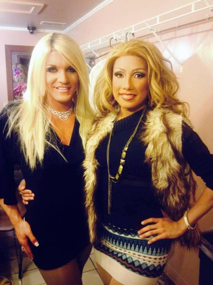 Felicity Ferraro and Angela Lopez