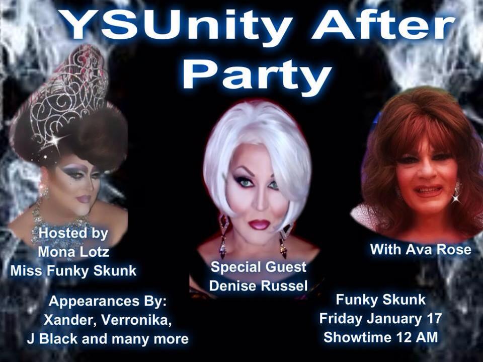 Ad | Funky Skunk Nite Club (Warren, Ohio) | 1/17/2014