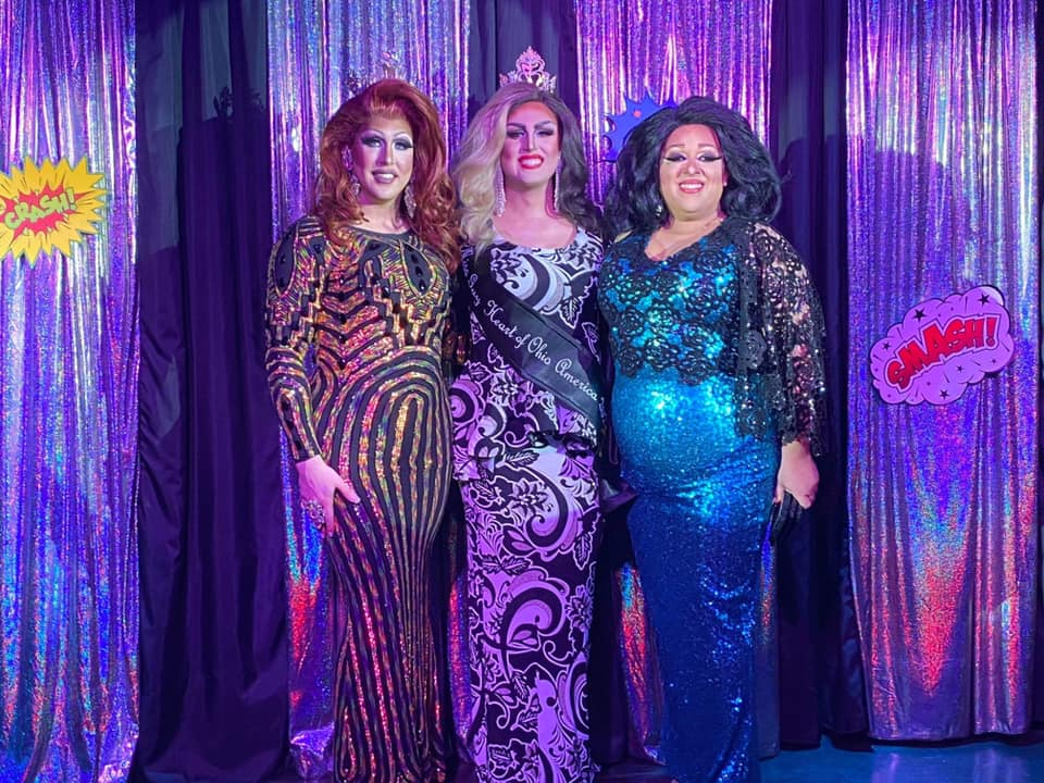 Courtney Kelly, Scarlett Kelly and National Holiday | Miss Gay Heart of Ohio America | Boscoe's (Columbus, Ohio) | 1/11/2020