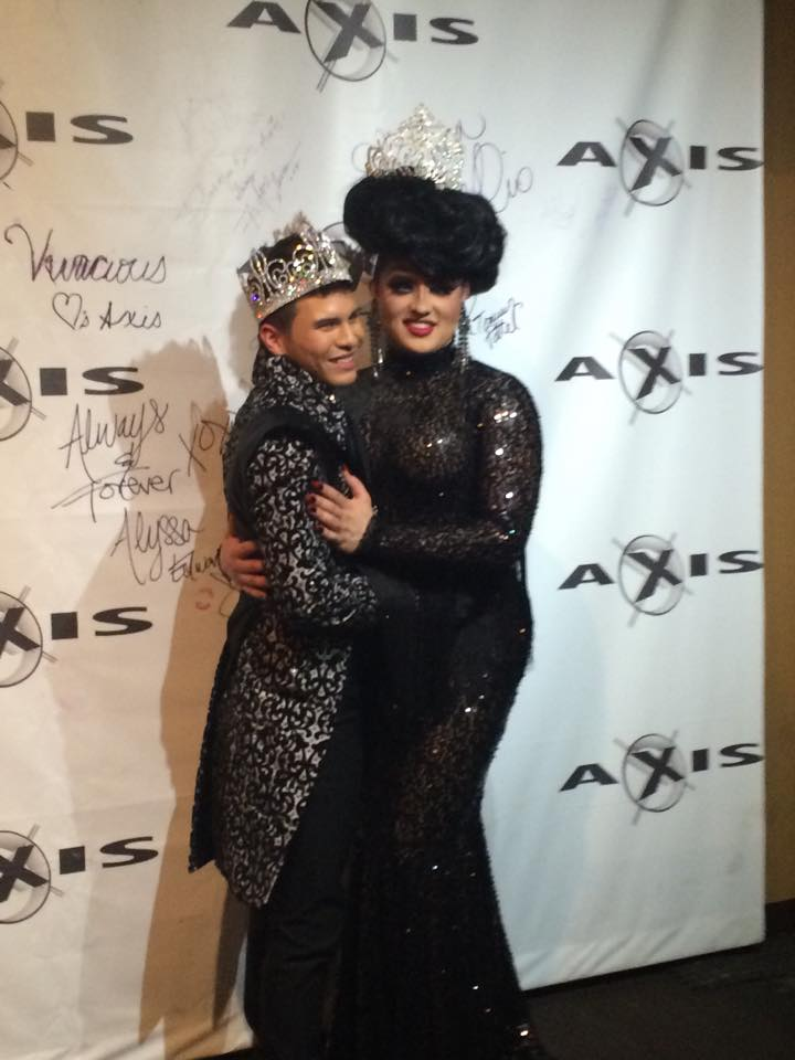 Rex Matthews and Ashley Austin Ferrah | Mr. Ohio Gay Pride | Axis Nightclub (Columbus, Ohio) | 10/5/2014