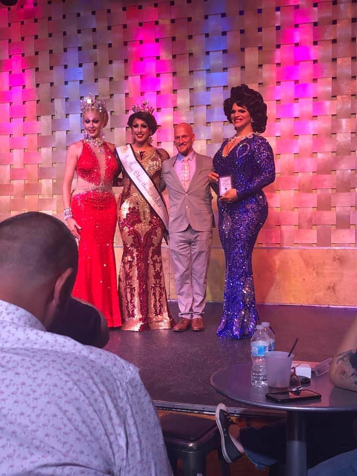 Andora Te'Tee, Courtney Kelly, Michael Bishop (Beverly Ford) and Ava Aurora Foxx | Miss Gay Ohio America | Axis Nightclub (Columbus, Ohio) | 7/19-7/21/2019