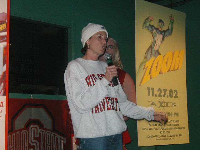 Needs Identified | OSU Michigan Pep Rally | Union Station Video Cafe (Columbus, Ohio) | 11/23/2002