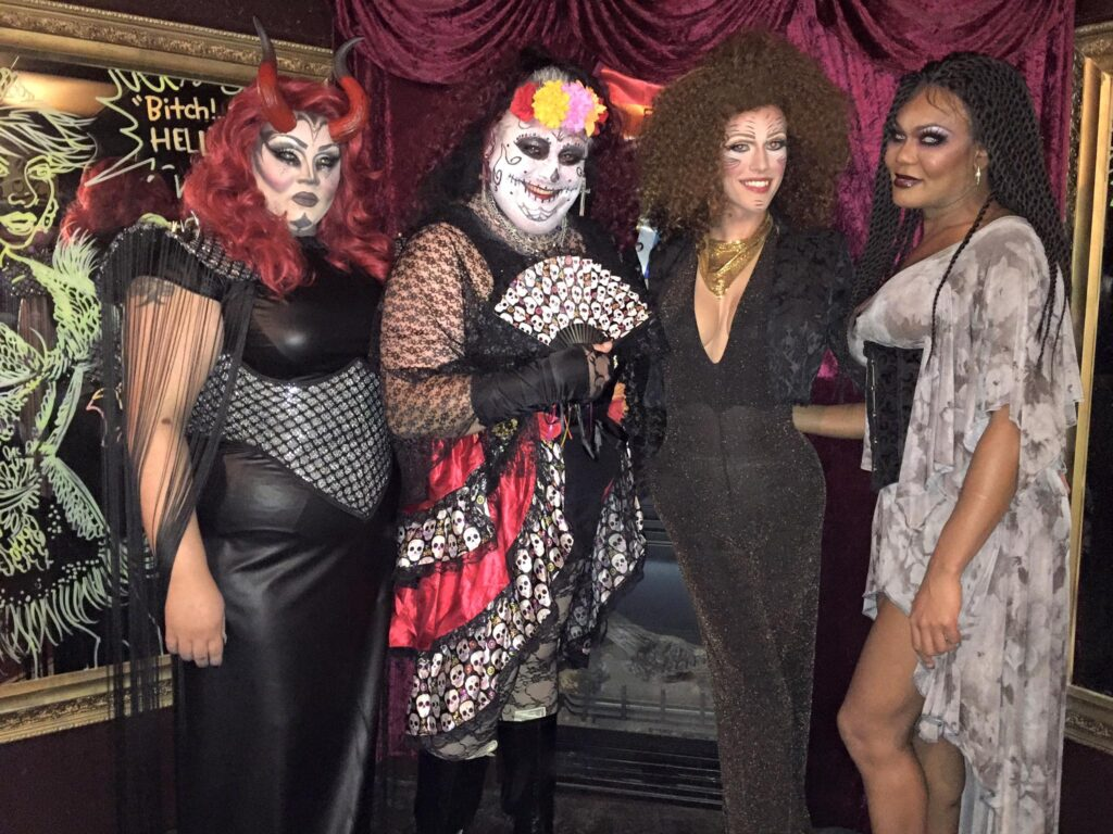Rieanna Ali, Fonda Lyn Peters, Jennifer Lynn Ali and Bianca Debonair | Cavan Irish Pub (Columbus, Ohio) | October 2015