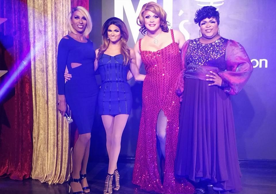 Olivia Knowles, Chasity Marie, Misty Phoenix St. James and Daray Lorez | MJ's on Jefferson (Dayton, Ohio) | September 2015