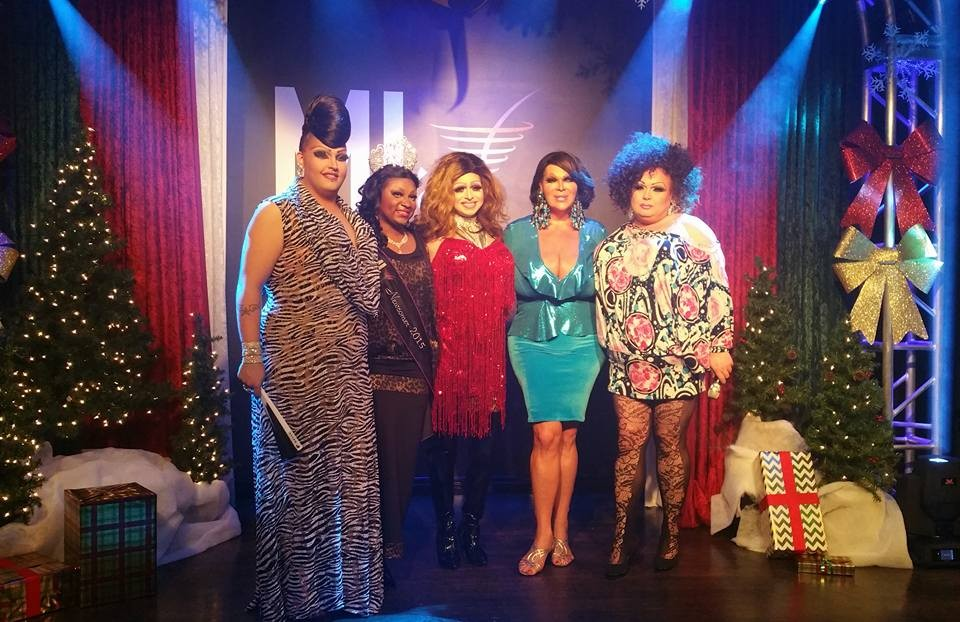 Scarlett Fever, Sasha Chanel Soule, Jade Sexton, Dena Cass and Montana McDaniels | MJ's on Jefferson (Dayton, Ohio) | December 2015