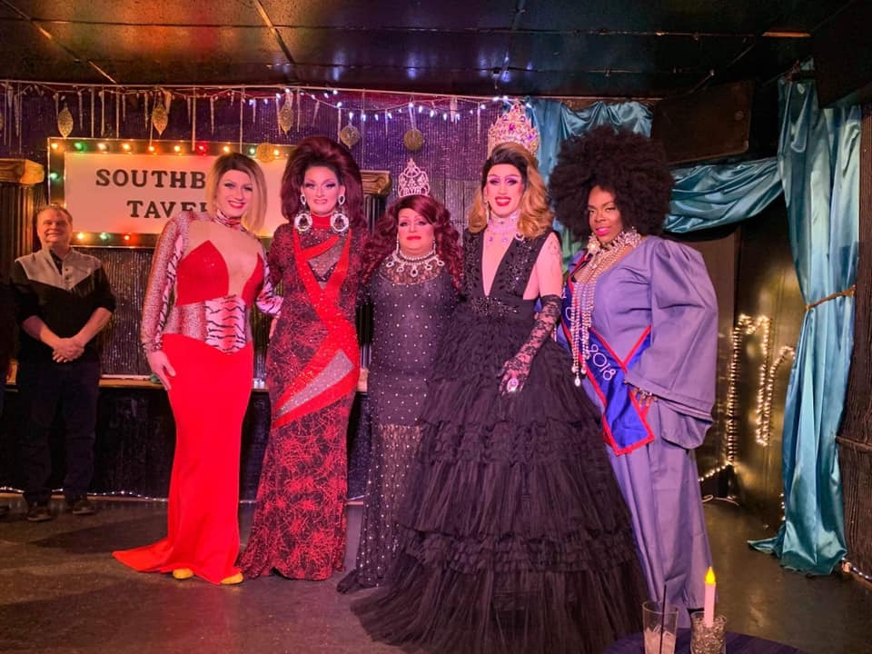 Britney Blaire, Sheridan Steele, Stacy Z Candy, Soy Queen and Mikayla Denise | Miss Gay Paramount Ohio | Southbend Tavern (Columbus, Ohio) | 1/19/2020
