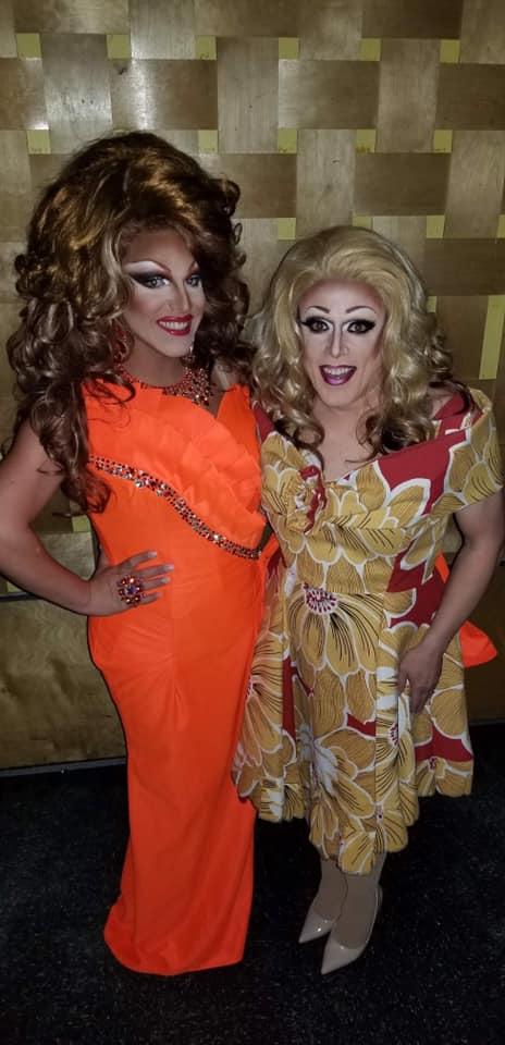 Valerie Valentino and Mary Nolan | Miss Gay Ohio America | Axis Nightclub (Columbus, Ohio) | 7/19-7/21/2019