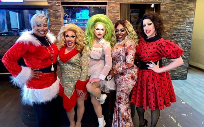 Vee Love, Mary Nolan, Selena T. West, Mikayla Denise and Eris Grey | Union Cafe (Columbus, Ohio) | 12/21/2019
