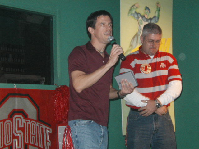 Jimmy | OSU Michigan Pep Rally | Union Station Video Cafe (Columbus, Ohio) | 11/23/2002