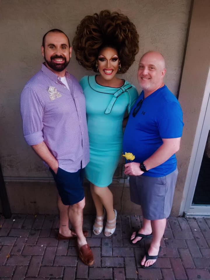 Nick Eichler (Erika Evans), Valerie Valentino and Nick Rose (Tiffanie Taylor) | Miss Gay Ohio America | Axis Nightclub (Columbus, Ohio) | 7/19-7/21/2019