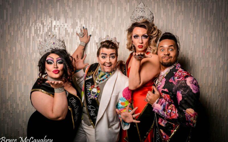 OGP Court: Sassy StoneHart, Stevie Phoenix, Britney Blaire and Monroe DeMoore | Photo by Bryce McCaughey | Miss Ohio Gay Pride | Axis Nightclub (Columbus, Ohio) | 11/9 - 11/10/2019