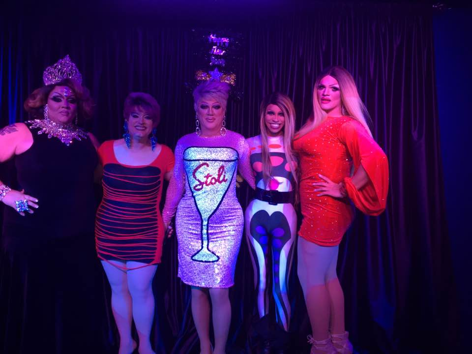 Reianna Ali, Vivi Velure, Hellin Bedd, Sabrina Caprice Heartt and Ava Aurora Foxx | Boscoe's (Columbus, Ohio) | 12/30/2016