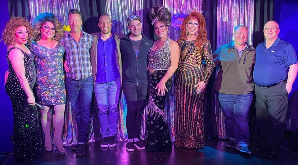 Forever Miss Gay Ohio America's: Mary Nolan, Paige Passion, Deva Station, Valerie Taylor, Amanda Sue Punchfuk, Valerie Valentino, Courtney Kelly, Vivi Velure and Tiffanie Taylor | Miss Gay Heart of Ohio America | Boscoe's (Columbus, Ohio) | 1/11/2020