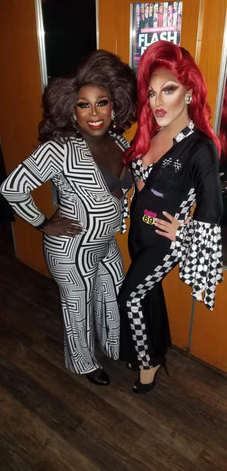Andora Te'Tee and Valerie Valentino | Miss Gay Ohio America | Axis Nightclub (Columbus, Ohio) | 7/19-7/21/2019