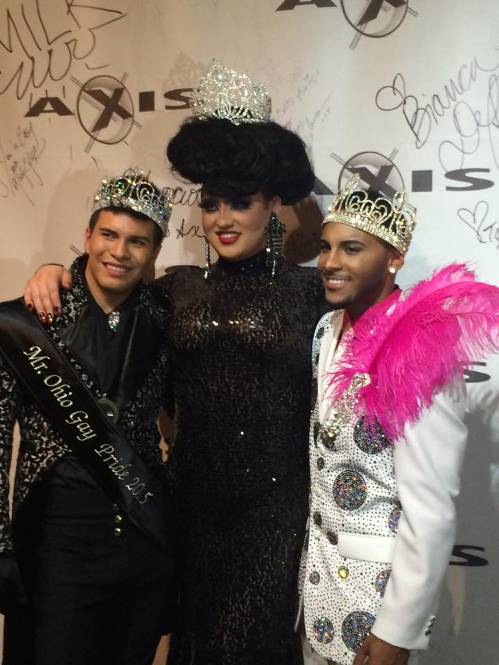 Rex Matthews, Ashley Austin Ferrah and Izaya Cole | Mr. Ohio Gay Pride | Axis Nightclub (Columbus, Ohio) | 10/5/2014
