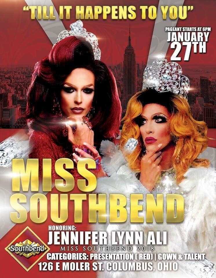 Ad | Miss Southbend | Southbend Tavern (Columbus, Ohio) | 1/27/2019