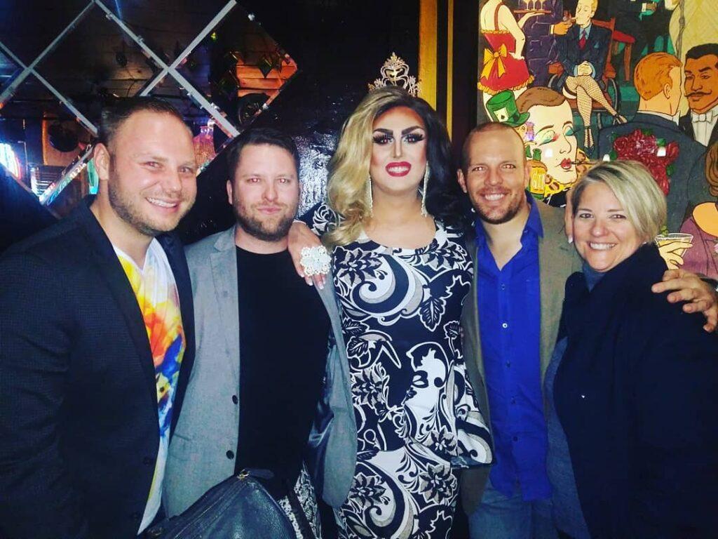 Mathew, Michael, Scarlett Kelly, Valerie Valentino and Dana   Southbend Tavern (Columbus, Ohio)   1/11/2020
