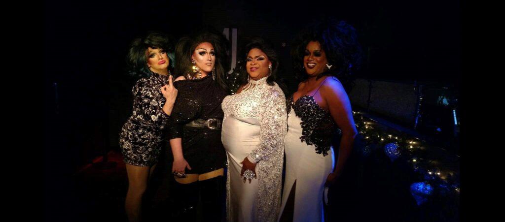 Amanda Sue Punchfuk, Kisha Summers, Daray Lorez and Alana Reign | MJ's on Jefferson (Dayton, Ohio) | November 2018