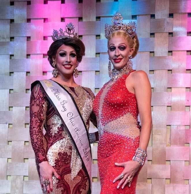 Courtney Kelly and Andora Te'Tee | Miss Gay Ohio America | Axis Nightclub (Columbus, Ohio) | 7/19-7/21/2019