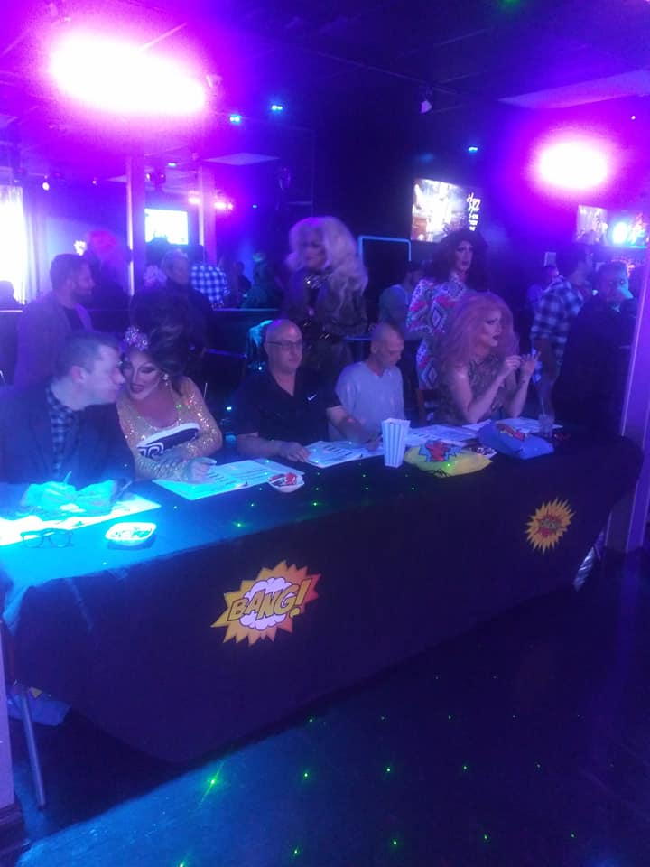 Judges Table | Miss Gay Heart of Ohio America | Boscoe's (Columbus, Ohio) | 1/11/2020