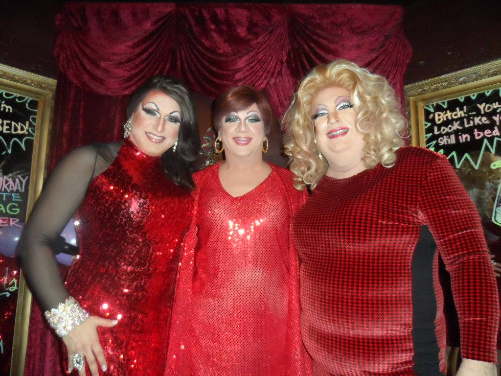 Virginia West, Hellin Bedd and Candi Panties   Cavan Irish Pub (Columbus, Ohio)   12/19/2015
