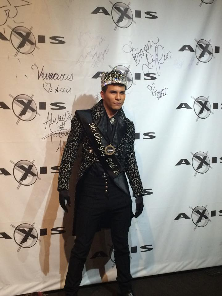 Rex Matthews | Mr. Ohio Gay Pride | Axis Nightclub (Columbus, Ohio) | 10/5/2014