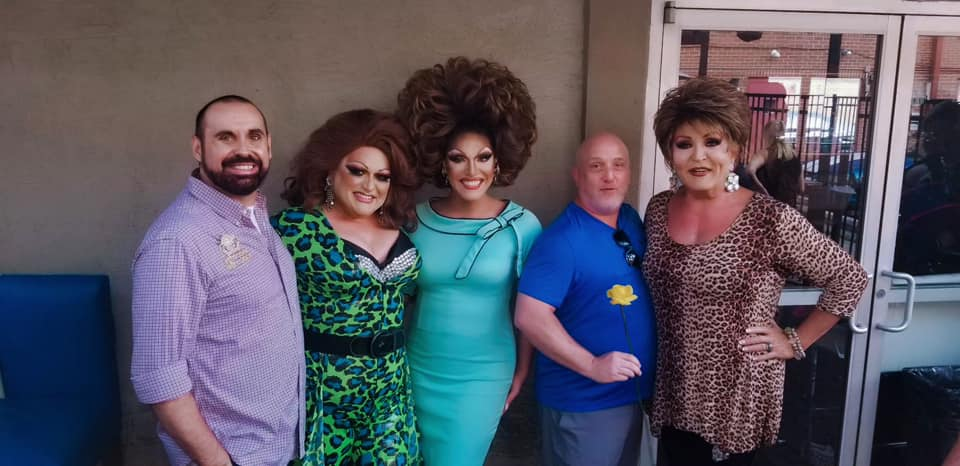 Nick Eichler (Erika Evans), Paige Passion, Valerie Valentino, Nick Rose (Tiffanie Taylor) and Denise Russell | Miss Gay Ohio America | Axis Nightclub (Columbus, Ohio) | 7/19-7/21/2019