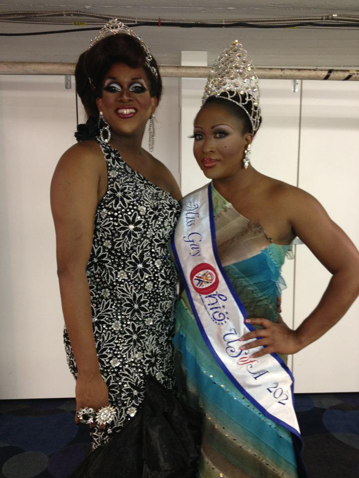 Alana Reign and Leah Halston | Miss Gay Dayton USofA | Masque (Dayton, Ohio) | 10/21/2012