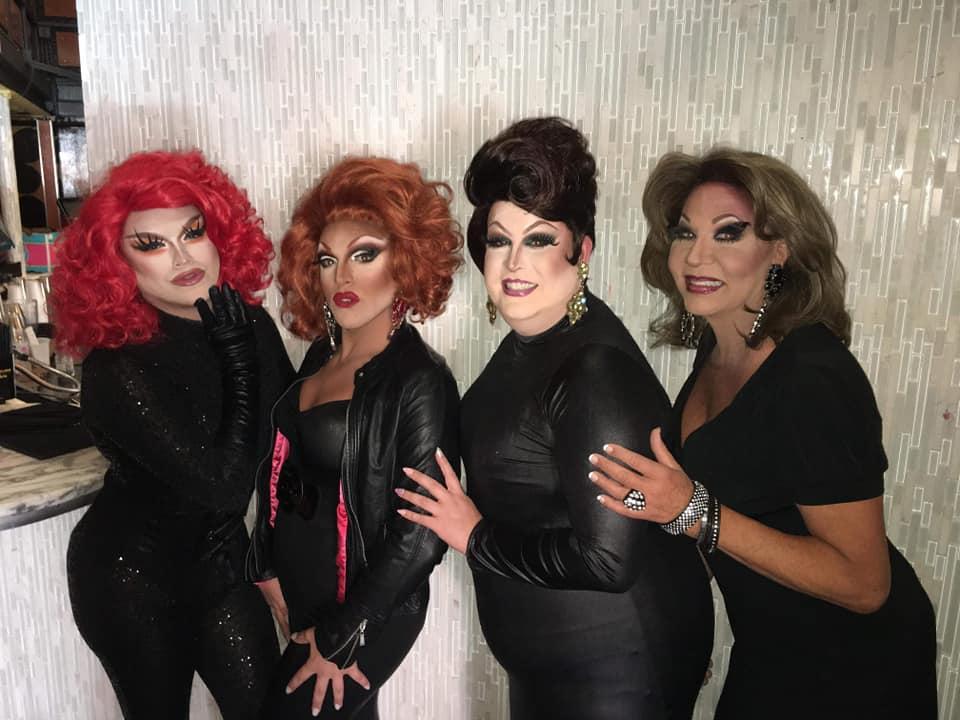 Selena T. West, Valerie Valentino, Alexis Stevens and Sonya Ross | Miss Gay Ohio America | Axis Nightclub (Columbus, Ohio) | 7/19-7/21/2019
