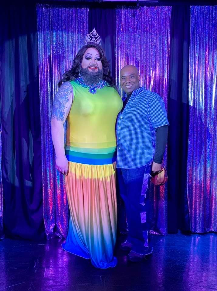 Miranda Michaels and Vee Love | Miss Gay Columbus Ohio | Boscoe's (Columbus, Ohio) | 1/25/2020