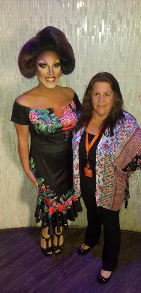 Valerie Valentino and her Mom | Miss Gay Ohio America | Axis Nightclub (Columbus, Ohio) | 7/19-7/21/2019