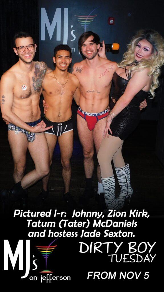 Johnny Dangerously, Zion Kirk, Tatum McDaniels and Jade Sexton | MJ's on Jefferson (Dayton, Ohio) | November 2019