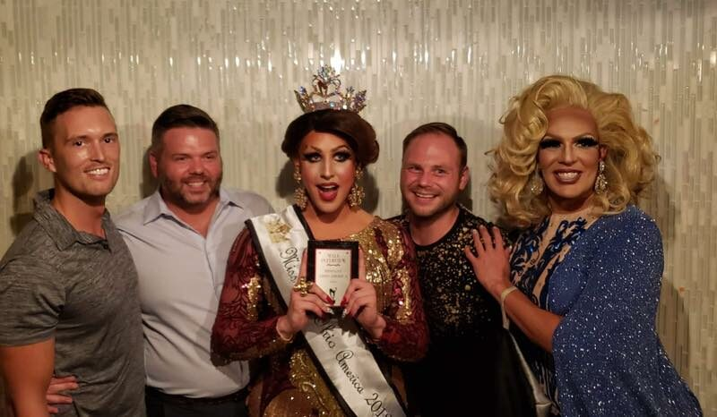 Tyler Stegner, Johnathan Thacker, Courtney Kelly, Mathew Stuckey and Valerie Taylor | Miss Gay Ohio America | Axis Nightclub (Columbus, Ohio) | 7/19-7/21/2019