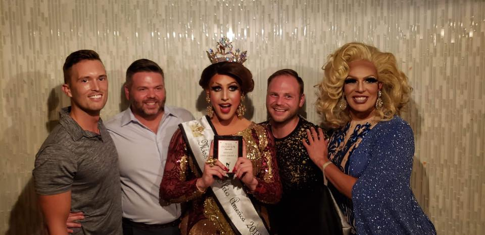 Tyler Stegner, Johnathan Thacker, Courtney Kelly, Mathew Stuckey and Valerie Taylor | Miss Gay Ohio America | Axis Nightclub (Columbus, Ohio) | 7/19-7/21/2019
