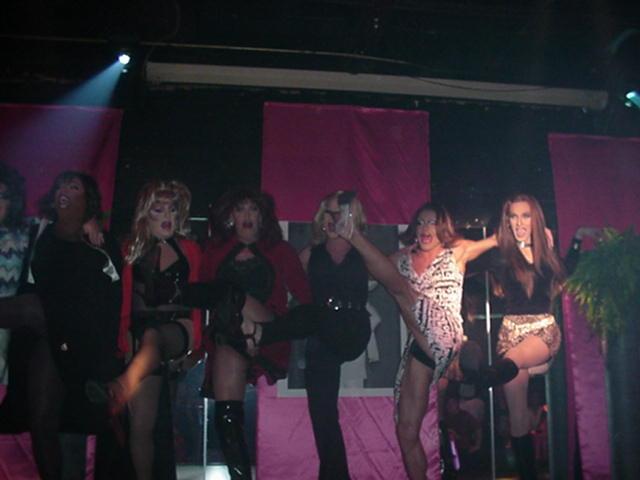 Treva Perry, Jennifer Hart, Tara Richmond, Missy Marlo, Maria Garrison and Fancy Punasti | Remembering Brazon | The Eagle (Columbus, Ohio) | 5/19/2002