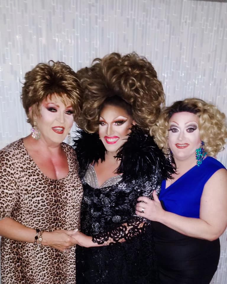 Denise Russell, Valerie Valentino and Vivi Velure | Miss Gay Ohio America | Axis Nightclub (Columbus, Ohio) | 7/19-7/21/2019